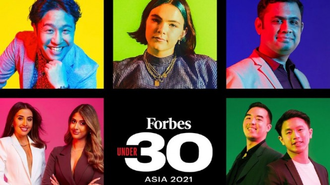 Forbes 30 Under 30 2021.