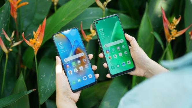 Oppo A74 dan Oppo A74 5G.