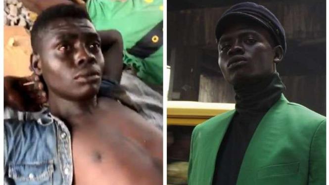 Ali Olakunmi, dari gelandangan jadi model terkenal.