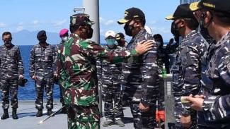 VIVA Militer: Panglima TNI dan KSAL.