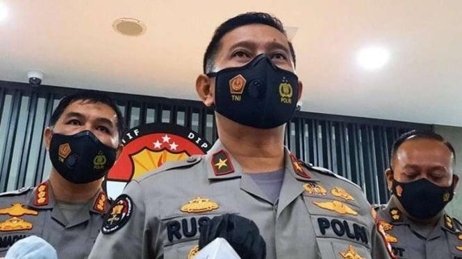 Kepala Biro Penerangan Masyarakat Divisi Humas Polri Brigjen Pol Rusdi Hartono.