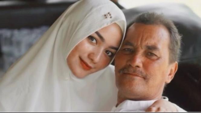 Citra Kirana dan ayah