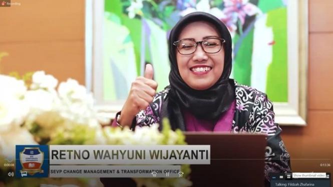 Retno Wahyuni Wijayanti, SEVP Change Management & Transformation BRI