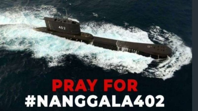Tagar PrayForKRINanggala402 bergema di jagat Twitter