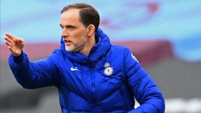 Manajer Chelsea, Thomas Tuchel.
