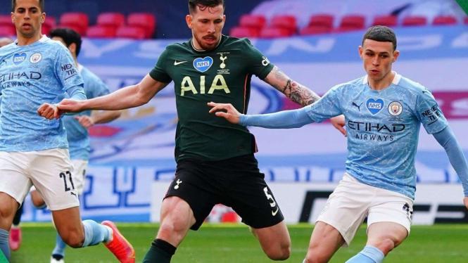 Final Piala Liga Inggris, Manchester City Vs Tottenham Hotspur
