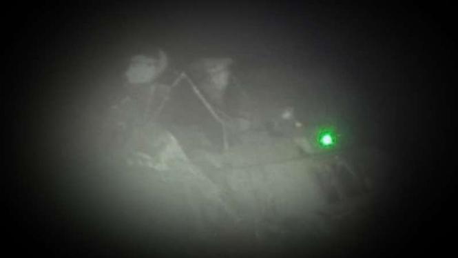 VIVA Militer; KRI Nanggala di dasar laut.