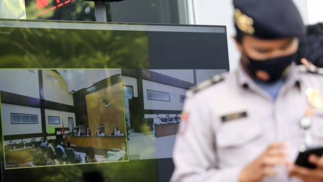 Sidang Lanjutan Habib Rizieq di PN Jakarta Timur