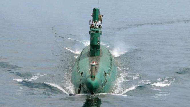 VIVA Militer: Kapal selam Angkatan Laut Korea Utara (Korut)