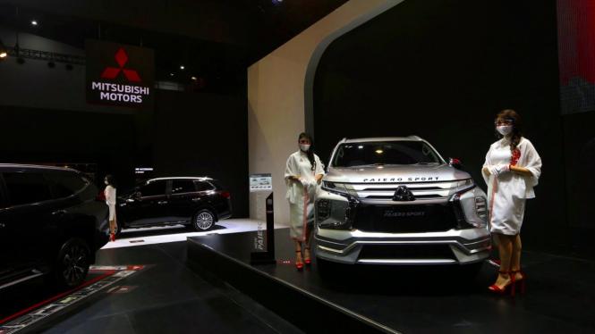 Booth Mitsubishi di IIMS 2021