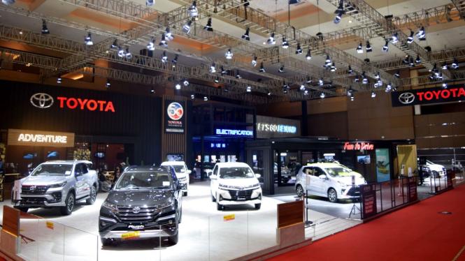 Booth Toyota di IIMS 2021