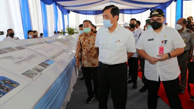 Menteri Koordinator Bidang Kemaritiman dan Investasi, Luhut B. Pandjaitan.