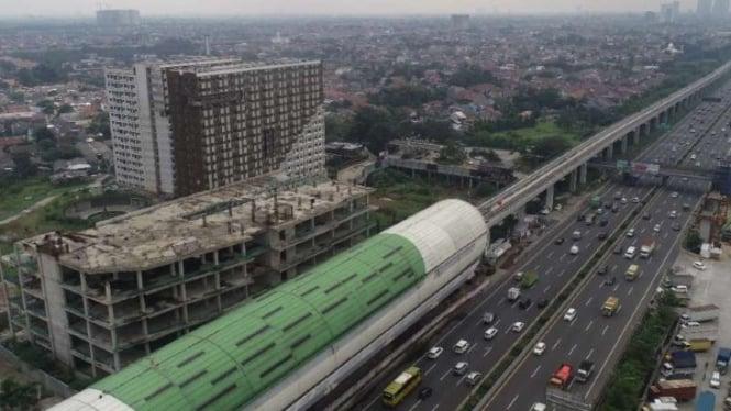 Proyek LRT City (salah satu proyek Adhi Commuter Properti).