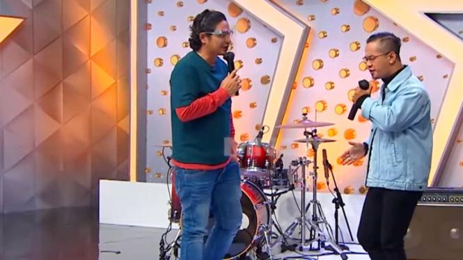 Salah satu kontestan program talent show mirip Pasha Ungu
