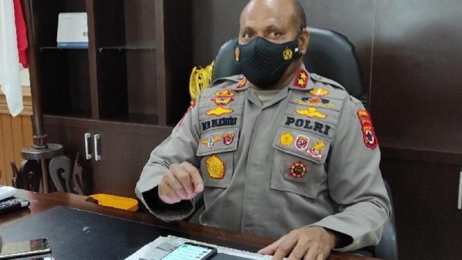Kapolda Papua Irjen Pol Mathius D Fakhiri
