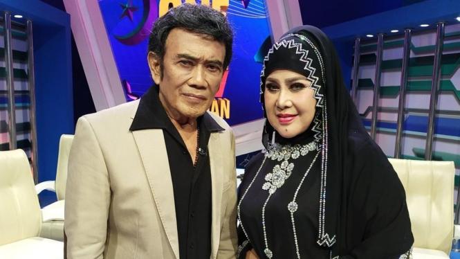 Rhoma Irama dan Elvy Sukaesih