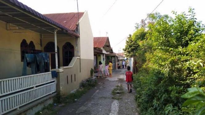 Lokasi penggerebekan narkoba di Deli Serdang