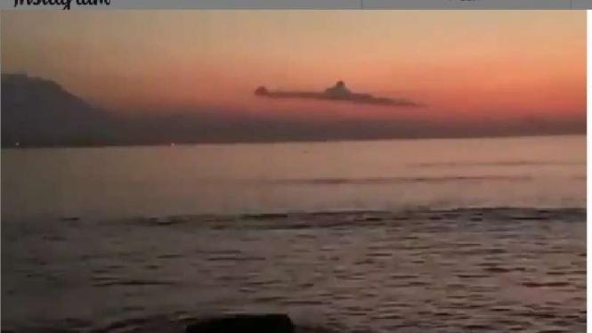 Viral awan di Bali mirip KRI Nanggala 402