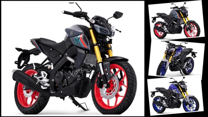 Sepeda motor Yamaha MT-15 warna baru