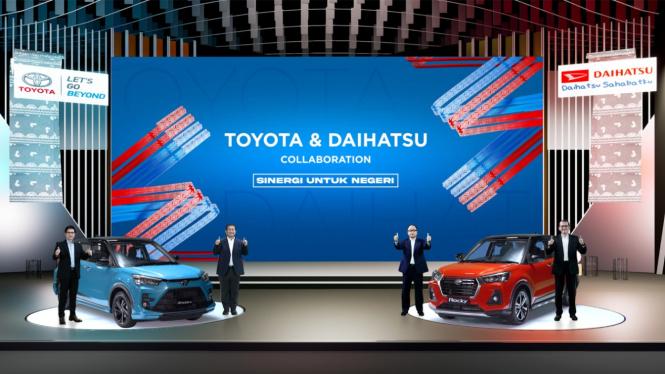 Peluncuran Toyota Raize dan Daihatsu Rocky di Indonesia
