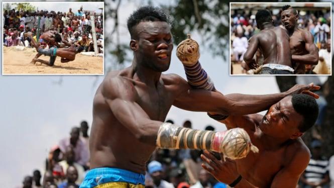 Dambe, Pertandingan Tinju Brutal Ala Afrika