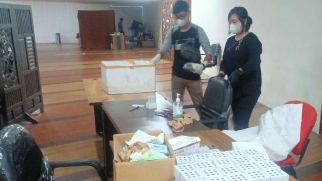 Tempat Layanan Antigen di Bandara Kualanamu yang Digerebek Polisi