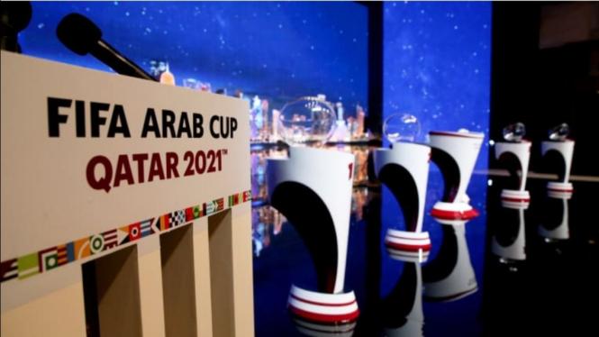 Undian Piala Arab FIFA 2021.
