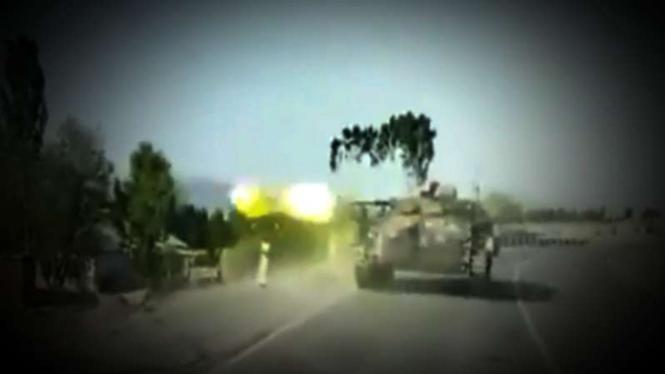 VIVA Militer: Tank militer Kirgistan vs Tajikistan.
