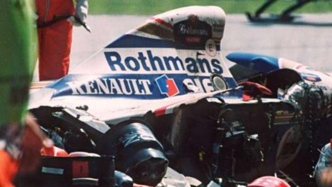 Kecelakaan Ayrton Senna.