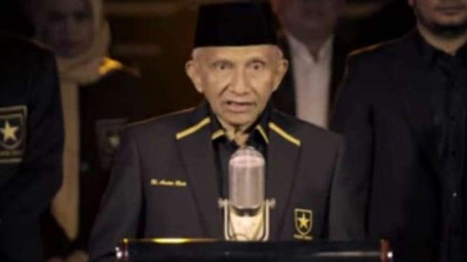 Amien Rais deklarasikan Partai Ummat.