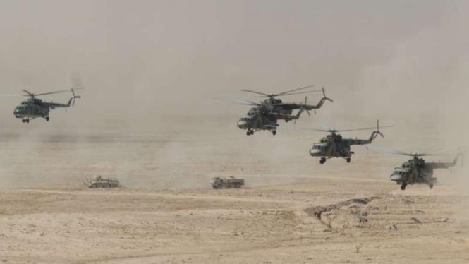 VIVA Militer: Helikopter Angkatan Udara Republik Tajikistan