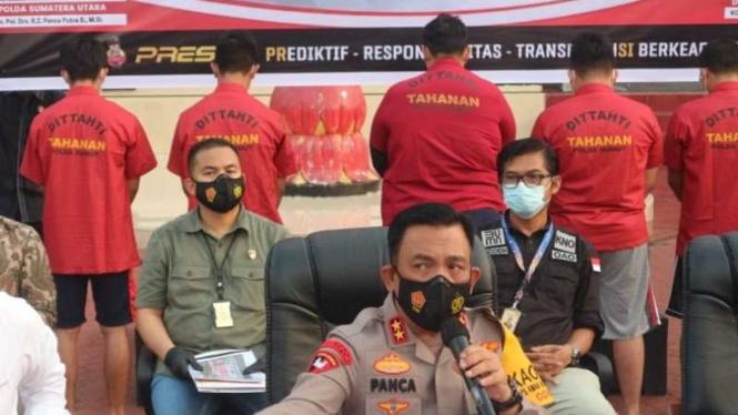 Kapolda Sumut, Irjen Pol. RZ Panca Putra Simanjuntak.