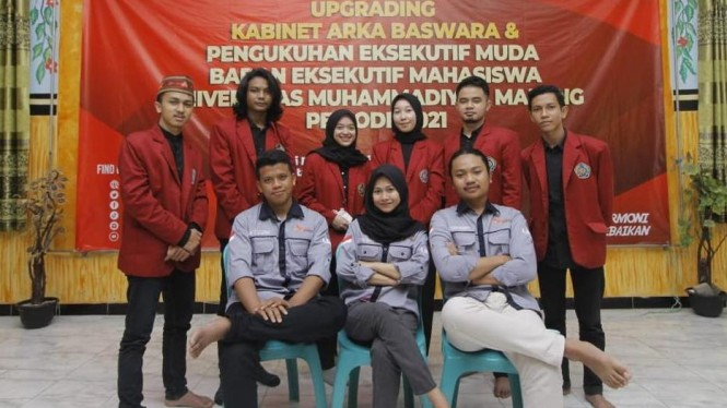 Kementrian Politik, Hukum, dan HAM Badan Eksekutif Mahasiswa Universitas Muhammadiyah Malang.