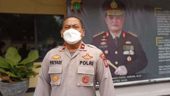 Kasubag Humas Polres Metro Depok, Komisaris Polisi Supriyadi.