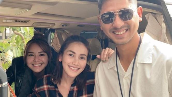 Amanda Manopo, Ayu Ting Ting dan Arya Saloka