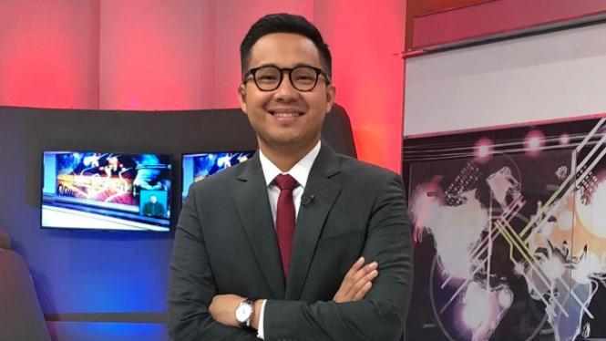 Presenter tvOne Rizky Darmansyah (Foto/Dok/Pribadi)