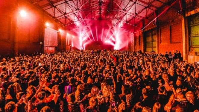 Klub malam Circus di Liverpool, Inggris.