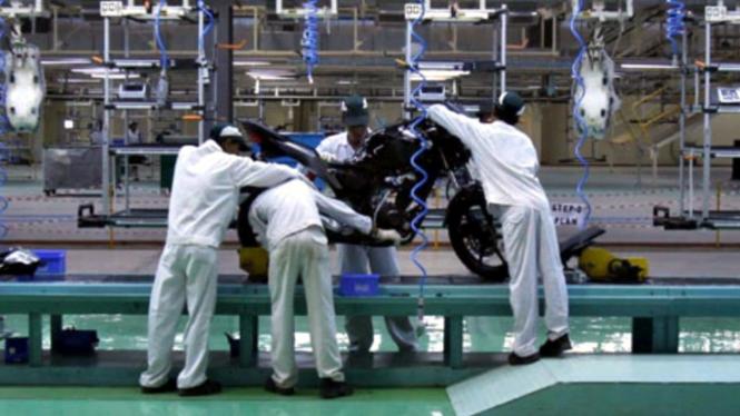 Pabrik motor Honda di India