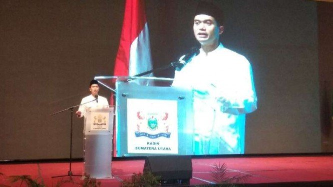 Calon Ketua Umum Kadin Indonesia, Anindya Bakrie, di Medan, Sabtu, 1 Mei 2021.