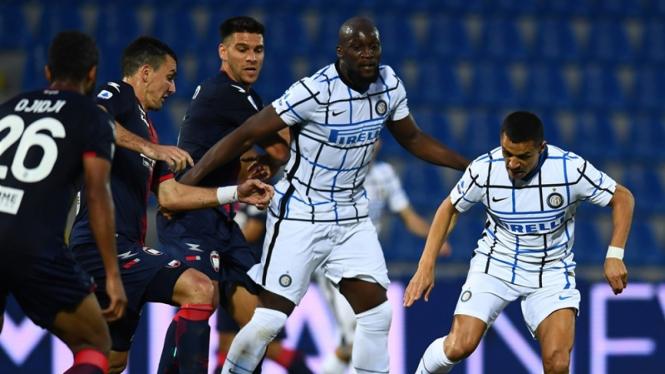 Pertandingan Inter Milan melawan Crotone
