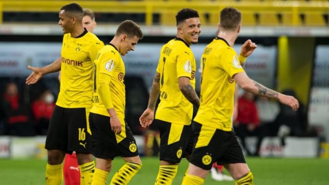 Pertandingan Borussia Dortmund vs Holstein Kiel