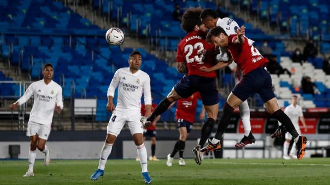 Pertandingan Real Madrid melawan Osasuna