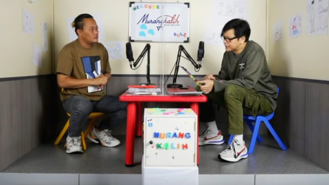 Sule hadir di podcast YouTube Armand Maulana
