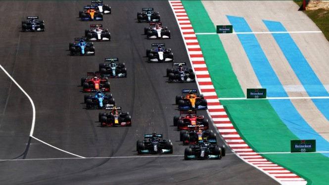 Balapan Formula 1 GP Portugal 2021.