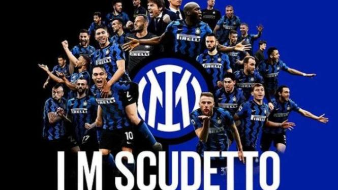 Inter Milan merebut Scudetto musim 2020/21