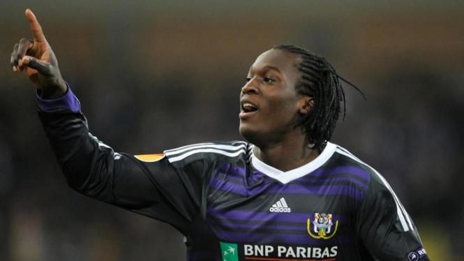 Romelu Lukaku saat masih memperkuat Anderlecht