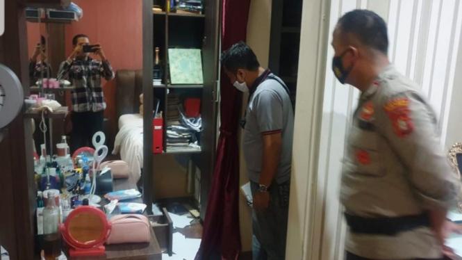 Rumah artis Terry Putri dibobol maling