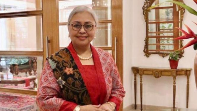 Dubes Rl untuk Bangladesh Rina Soemarno.