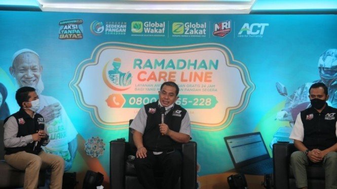 Presiden ACT Ibnu Khajar, Senin (3/4/2021).