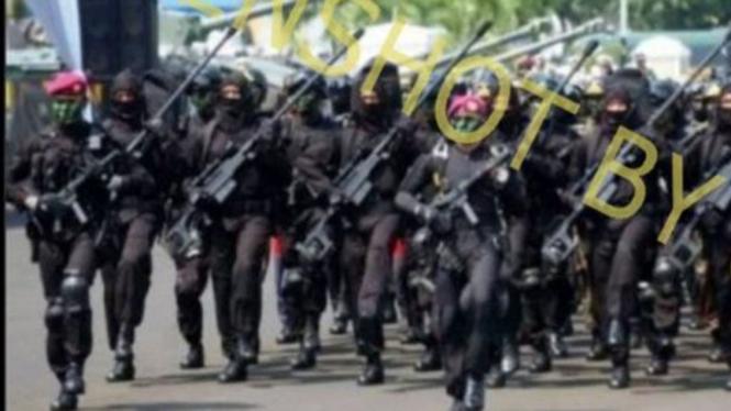 Denjaka disebut dilibatkan tumpas KKB Teroris Papua.